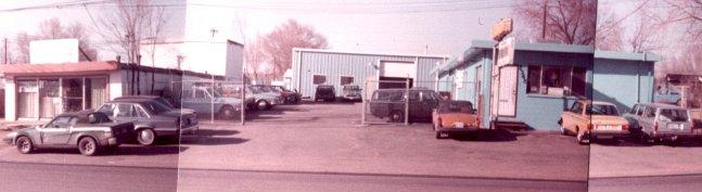 automotive repair shop 1985